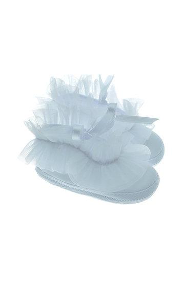 201120 Freesure Beyaz Kız Bebek Patik  Bebek Ayakkabı