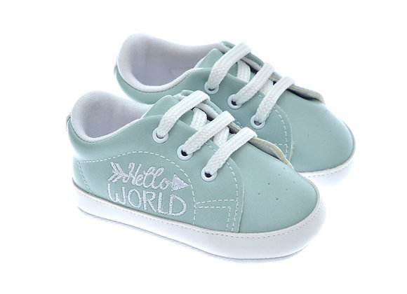 201119 Freesure Yeşil Kız Bebek Patik  Bebek Ayakkabı