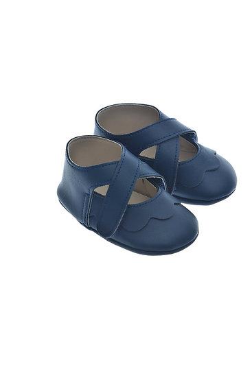 911220 Freesure Lacivert Kız Bebek Patik  Bebek Ayakkabı