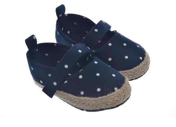 911226 Freesure Lacivert Kız Bebek Patik  Bebek Ayakkabı