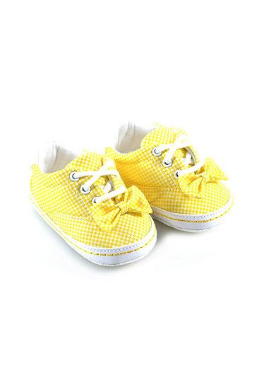 511014 Freesure Sarı Kız Bebek Patik  Bebek Ayakkabı