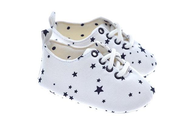201221 Freesure Beyaz Erkek Bebek Patik  Bebek Ayakkabı