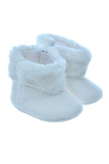812811 Freesure Beyaz Bebek Patik  Bebek Ayakkabı
