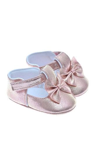 201114 Freesure Pembe Kız Bebek Patik  Bebek Ayakkabı