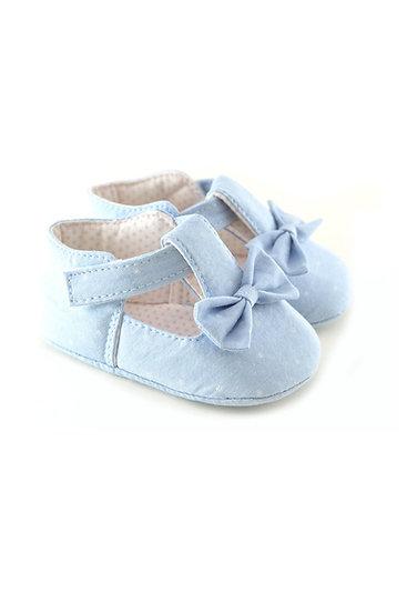 711112 Freesure Açık Jean Kız Bebek Patik  Bebek Ayakkabı