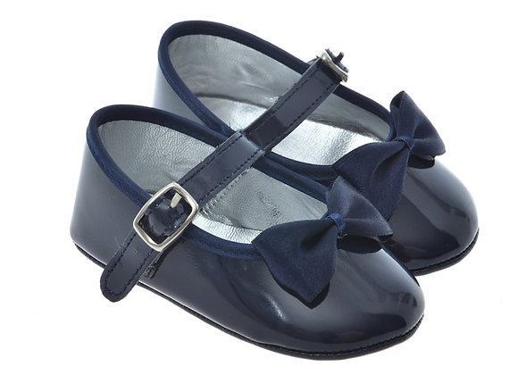 2000 Freesure Lacivert Kız Bebek Patik  Bebek Ayakkabı