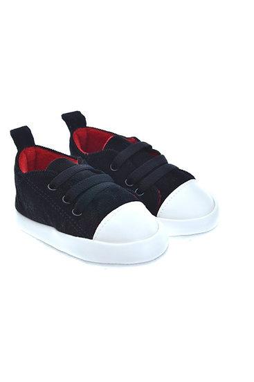 912580 Freesure Siyah Erkek Bebek Patik  Bebek Ayakkabı