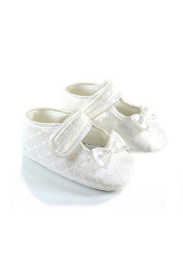 511022 Freesure Beyaz Kız Bebek Patik  Bebek Ayakkabı