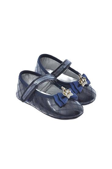611001 Freesure Lacivert Kız Bebek Patik  Bebek Ayakkabı