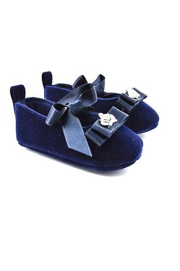 512101 Freesure Lacivert Kız Bebek Patik  Bebek Ayakkabı