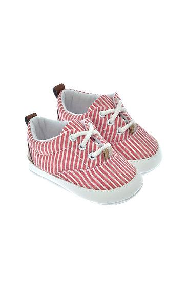 811711 Freesure Kırmızı Erkek Bebek Patik  Bebek Ayakkabı
