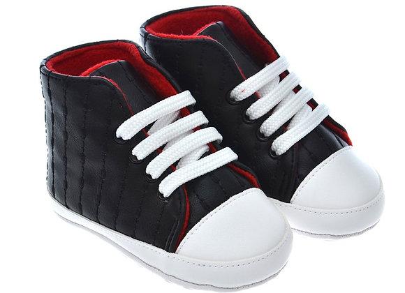 812852 Freesure Siyah Bebek Patik Bebek Ayakkabısı
