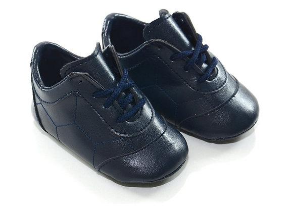 31403 Freesure Bağlı Lacivert Erkek Bebek Patik  Bebek Ayakkabı