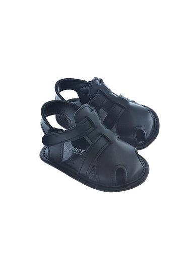 911418 Freesure Siyah Erkek Bebek Patik  Bebek Ayakkabı