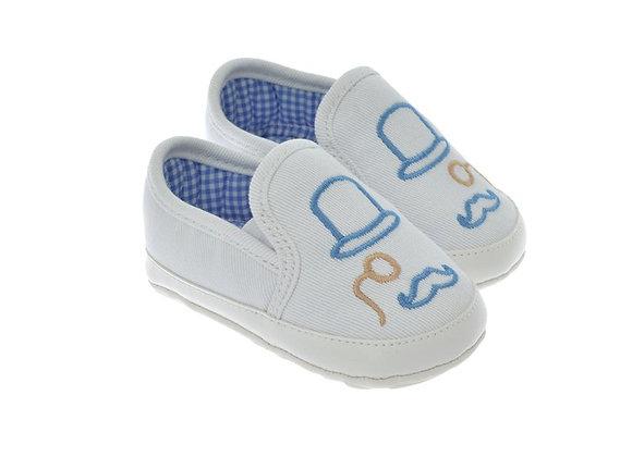 711216 Freesure Beyaz Erkek Bebek Patik  Bebek Ayakkabı