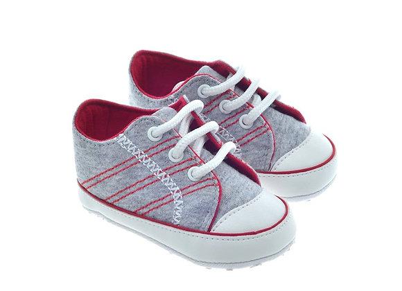 811719  Freesure Gri Erkek Bebek Patik  Bebek Ayakkabı