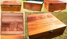 Custom Cherry Engraved Box
