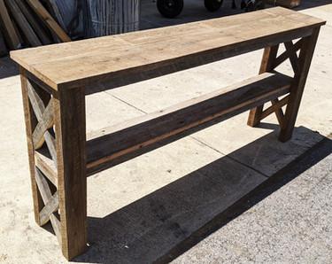 Reclaimed Oak Barn-Wood Hallway & Sofa Table