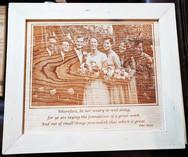 Engraved Portrait