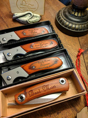Engraved Knives