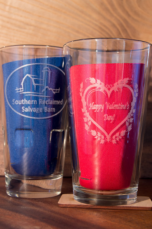 Single Engraved Pint Glass