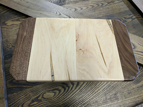Maple with Walnut Cutting-board