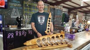 Custom Wood Beer Flights