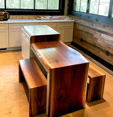 Custom Walnut Countertops
