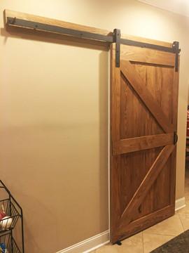 Rustic Double Z Sliding Barn Door
