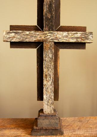 Custom Built Rustic Altar Cross.jpg