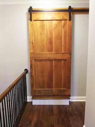 Standard Cherry Sliding Barn Door