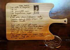 Engraved Handwriting