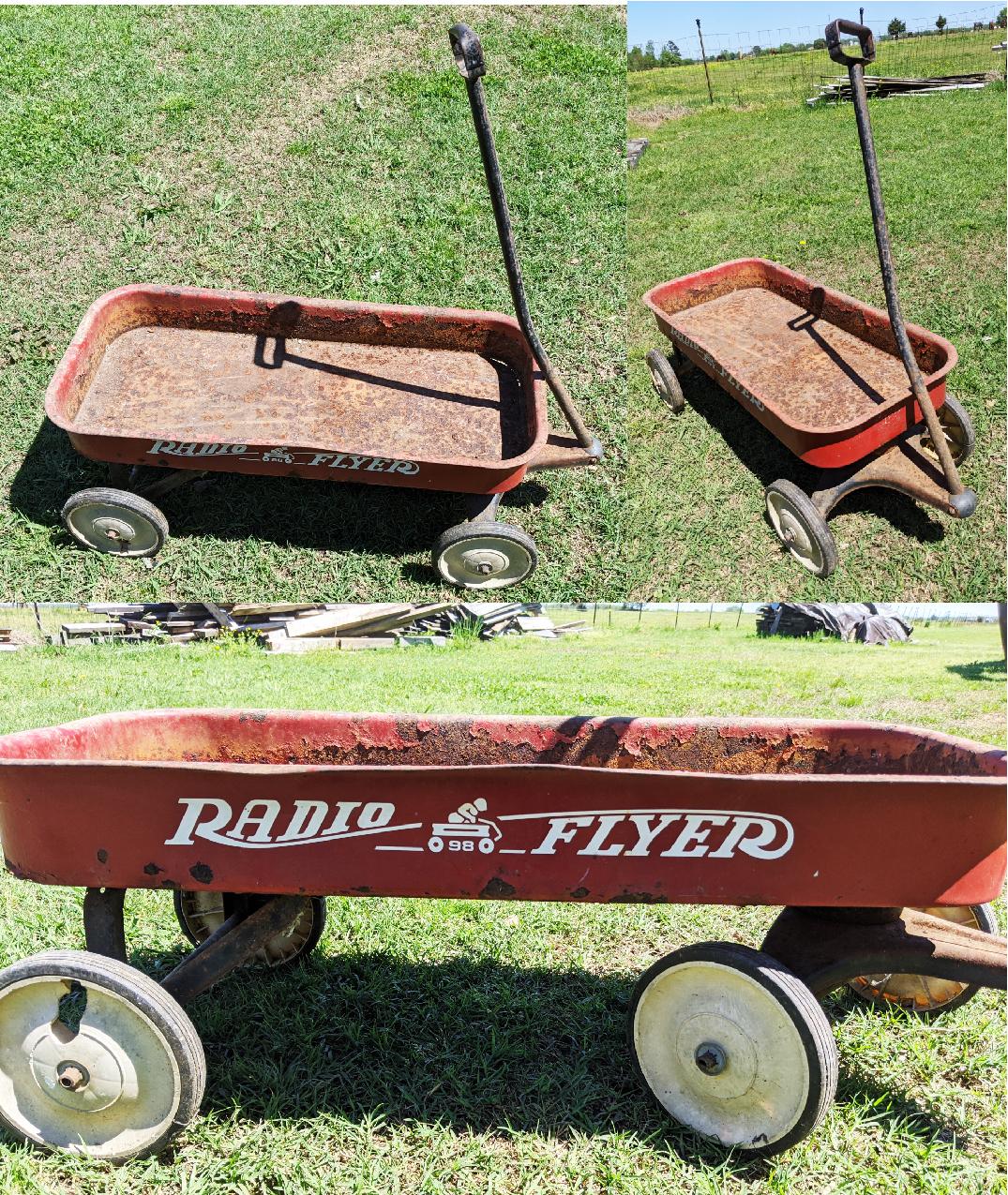 Classic Full-Sized Radio Flyer Wagon