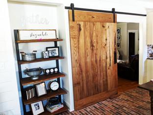 Reclaimed Rustic Sliding Barn Door