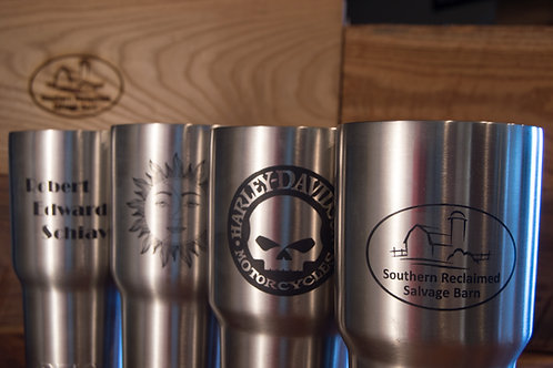Engraved Stainless Steel Containers