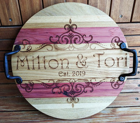 Custom Engraved Trays