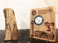 Custom Walnut Coin Holders