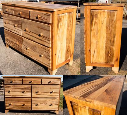 Oak and Ambrosia Maple Dresser