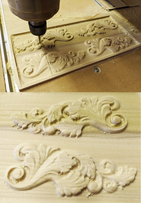 Custom Carved Moulding