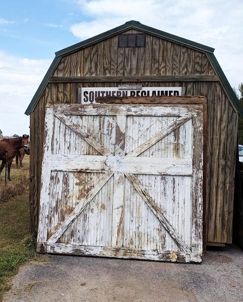 Authentic Barn Doors 8X8