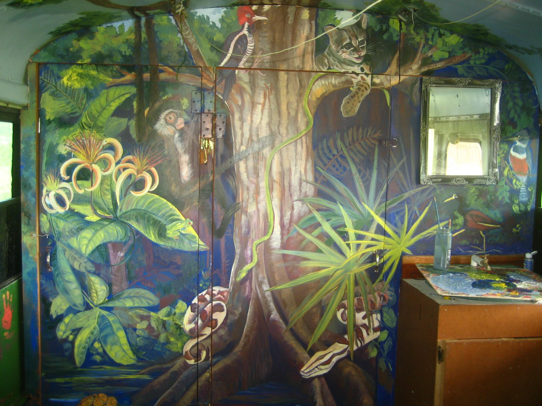 Belize Jungle detail