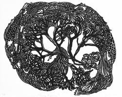 Evolution Fish Print