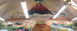 Mt. Fuji in the Clouds