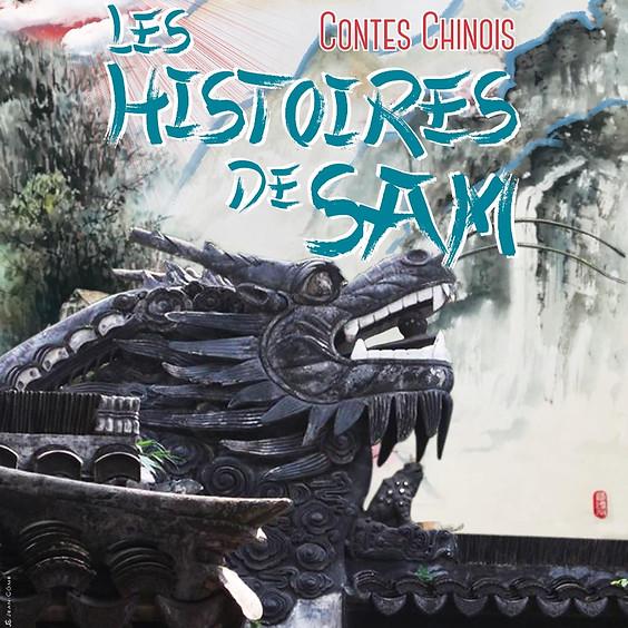 Les histoires de Sam, contes rapportés de Chine