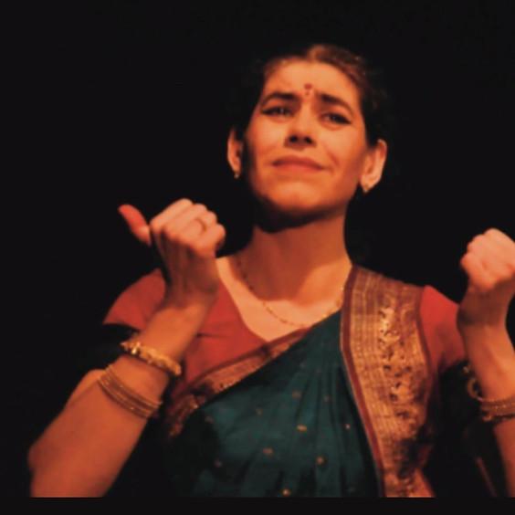 Présentation de l'atelier de danse Bharata Natyam