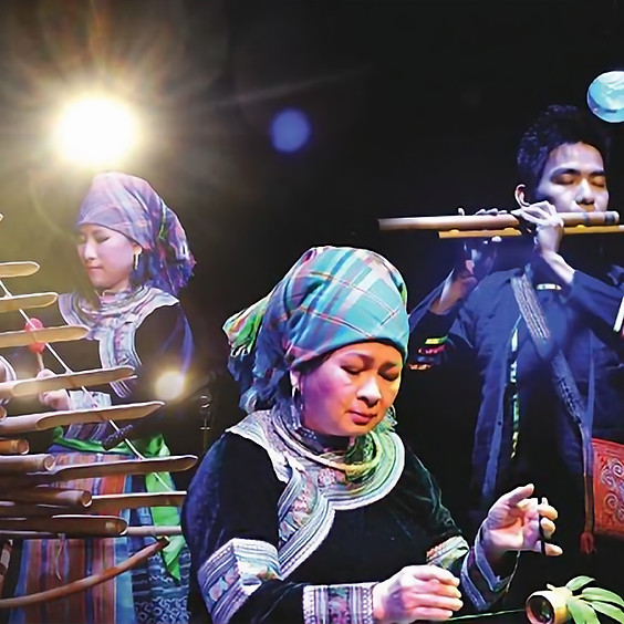 1001 Vibrations de bambou - Musique du Vietnam