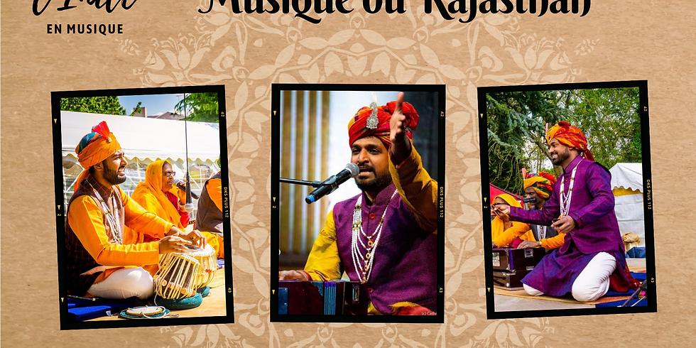 Fête de la musique, Musique du Rajasthan (entrée libre, sur réservation)