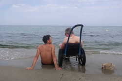 Ensemble au bord de la mer