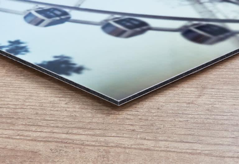 Foto op aluminium 45x30cm