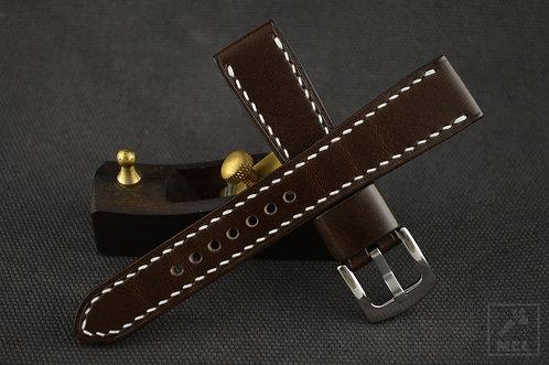 Handmade leather watch strap ManCaveLeather